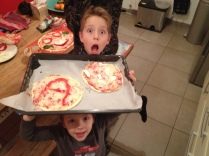 Pizza making night!