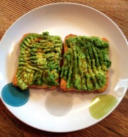 Avo toast= almost forgetting I'm not in California